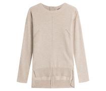 Kaschmir-Pullover mit Reißverschluss