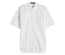 Bedrucktes Hemd aus Baumwoller