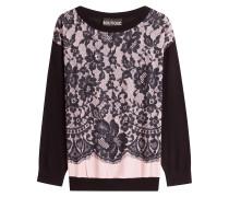 Bedrucktes Sweatshirt mit Schurwolle