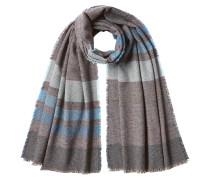 Gestreifter Schal aus Kaschmir