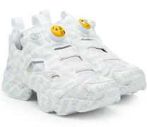 X Reebok Sneakers aus Textil mit Print