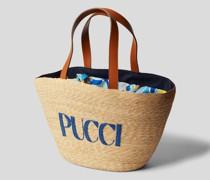 Strandtasche mit Logo-Detail