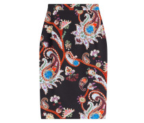 Pencil-Skirt mit Print