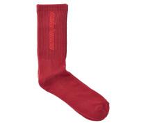 Gemusterte Socken mit Baumwolle