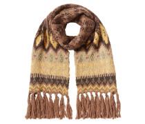 Strickschal aus Wolle, Angora und Mohair