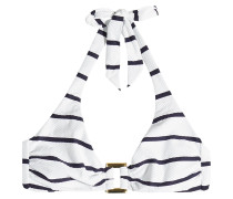 Gestreiftes Bikini-Top Core Nautical
