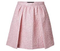 Flared-Skirt aus Cloqué