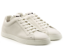 Sneakers aus Leder mit Nieten