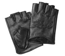 Fingerlose Leder-Handschuhe K/Signature