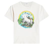 Bedrucktes T-Shirt Unicorn Dream aus Baumwolle