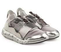 Sneakers Haus Ridge aus Leder mit Metallic-Finish
