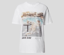 T-Shirt mit Motiv-Print