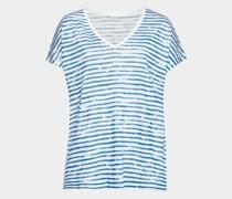 Oversized T-Shirt aus Leinen