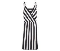 Kleid mit Streifen-Print