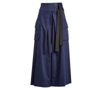 Wide Leg Cargo Pants aus Baumwolle