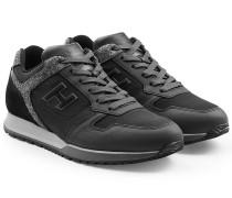 Sneakers R198 mit Leder