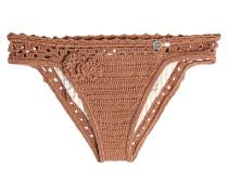 Bikini-Höschen aus gehäkelter Baumwolle