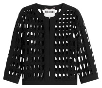 Cardigan aus Baumwolle mit Cut-Outs