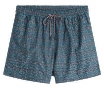 Bade-Shorts mit Print