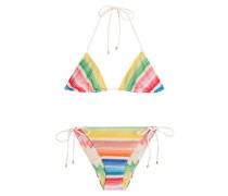 Triangel-Bikini aus Häkelstrick