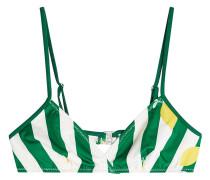 Bedrucktes Bikini-Top The Brigitte