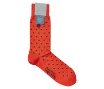 Socken aus Baumwolle mit Totenkopf-Motiv