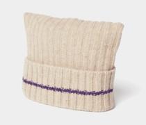 Strickmütze aus reiner Wolle