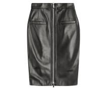 Pencil-Skirt aus Leder