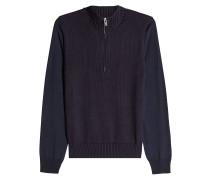 Pullover aus Wollmix mit Reißverschluss