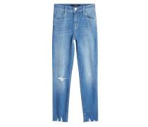 Skinny Jeans im Distressed Look