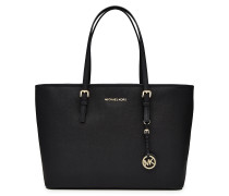 Leder-Shopper Jet Set Medium