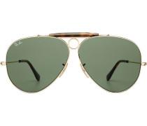 Sonnenbrille RB3138 Shooter Havana