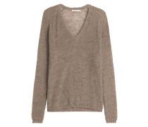Oversize-Pullover mit Alpaka