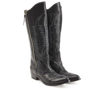Cowboy Boots aus Leder