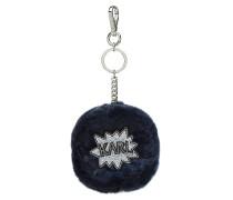 Schlüsselanhänger K/Pop Fuzzy aus Kaninchenfell