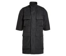 Jacke mit Stehkragen und Taschen
