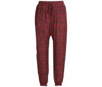 Harem-Pants mit Print