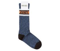 Gemusterte Socken aus Baumwolle