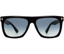 Sonnenbrille mit breitem Bügel