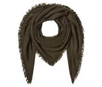 Schal aus Kaschmir, Schurwolle und Seide