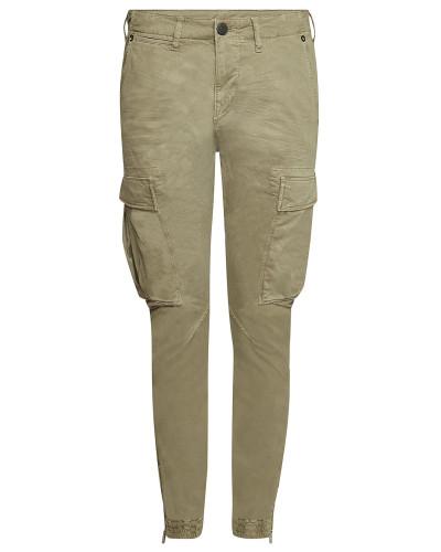 Cropped Cargo Pants aus Baumwolle