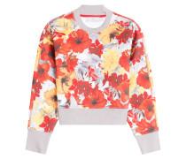 Sweatshirt Running Blossom mit Blüten-Print