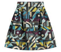 Gemusterter Flared-Skirt