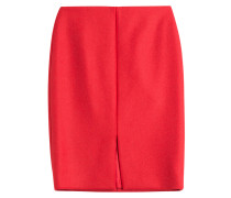 Pencil Skirt aus Wolle