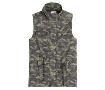 Camouflage-Weste aus Baumwolle