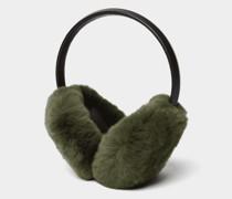 Ohrenschützer mit Fell-Besatz