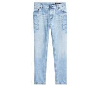 Slim Jeans mit Print