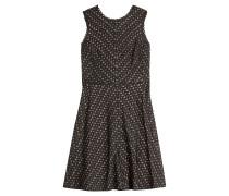Flared-Dress aus Häkelstrick