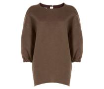 Oversize-Pullover aus Wolle und Angora