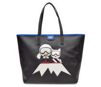 Shopper Karl Lagerfeld Holiday mit Applikation